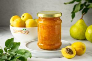 Варенье из абрикосов с грушами - фото шаг 8