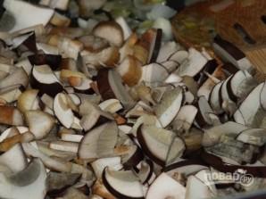 Суп-пюре из лесных грибов - фото шаг 2