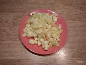 Пирожное без выпечки с ананасом - фото шаг 2