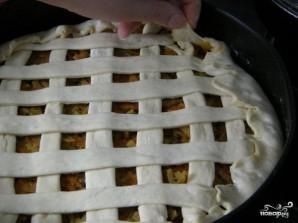 Постный дрожжевой пирог - фото шаг 10