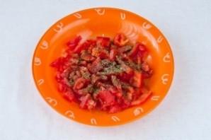 Вегетарианский пирог на кефире - фото шаг 5