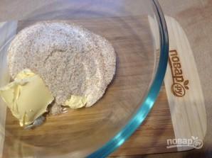 Печенье из цельнозерновой муки с инжиром и шоколадом - фото шаг 2