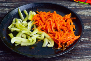Салат с курицей по-китайски - фото шаг 6