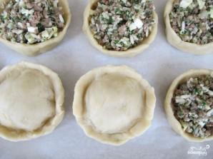 Маленькие пирожки для фуршета - фото шаг 8