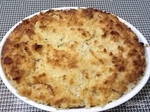 Творожный пирог с яблоками и карамелью - фото шаг 13