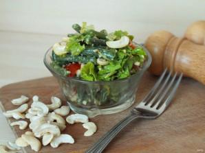 Салат из зеленой фасоли с орехами - фото шаг 4