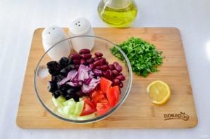 Иберийский салат из красной фасоли - фото шаг 2