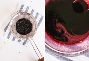 Замороженный йогурт с черникой - фото шаг 2