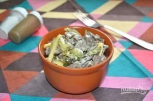 Салат с сердцем и сыром - фото шаг 9