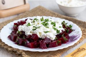 Салат из свеклы с творогом - фото шаг 5