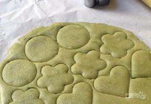Печеньки с зеленым чаем - фото шаг 3