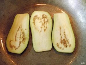 Рулетики из баклажанов с сыром и чесноком - фото шаг 3