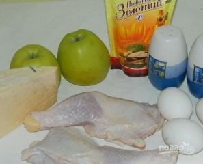 Салат с курицей и сыром - фото шаг 1