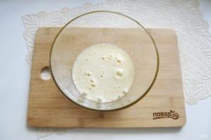 Кекс на кефире с вишней - фото шаг 4