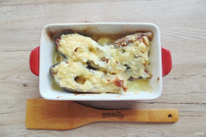 Карп с сыром в духовке
