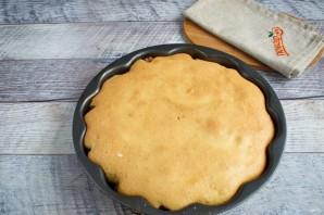 Простой перевернутый яблочный пирог - фото шаг 8