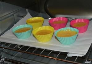 Банановые кексы в силиконовых формочках - фото шаг 7