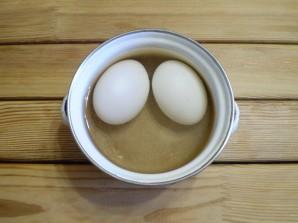 Суп с зеленью и яйцом - фото шаг 2