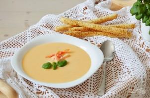 Сырный крем-суп с креветками - фото шаг 5