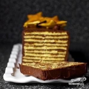 Венгерский торт Добош - фото шаг 9