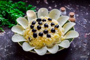 "Салат ""Подсолнух"" с ананасами - фото шаг 8"