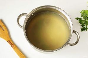 Сырный суп из горбуши - фото шаг 5