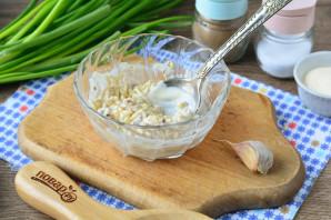 Яйца фаршированные орехами - фото шаг 10