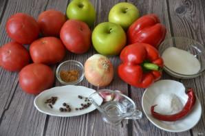 Кетчуп из помидоров и яблок на зиму - фото шаг 1