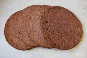 Шоколадный торт с кремом-чиз - фото шаг 7