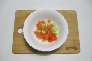 Постный салат с кальмарами - фото шаг 5