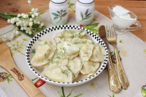 Вареники с солеными груздями и картошкой - фото шаг 14