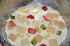Фруктовый торт с желатином - фото шаг 9