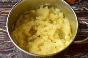Картофельные гнезда с курицей - фото шаг 4