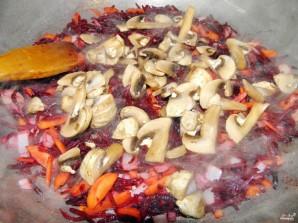 Борщ вегетарианский с грибами - фото шаг 5