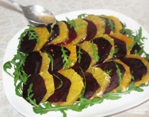 Салат из вареной свеклы - фото шаг 5