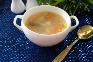 Суп с колбасой - фото шаг 6