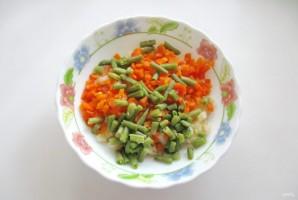 Винегрет с зеленой фасолью - фото шаг 3