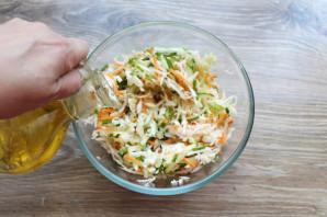 Салат с капустой и дайконом - фото шаг 8