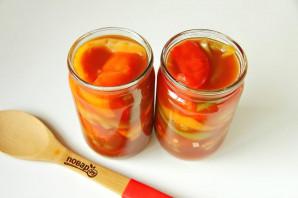 Лечо с томатным соком - фото шаг 7