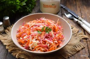 Салат из редьки с капустой - фото шаг 7