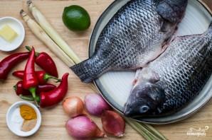Рыба по-индонезийски  - фото шаг 1