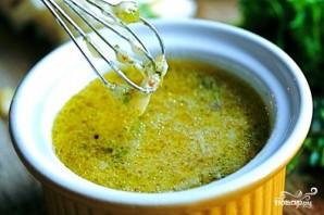 Заправка для салата с рукколой и креветками - фото шаг 2