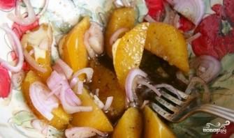 Салат с апельсинами и сыром - фото шаг 3