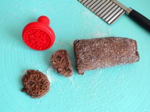 Постное шоколадное печенье - фото шаг 6