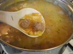 Гороховый суп с фаршем - фото шаг 9