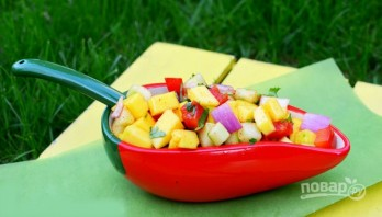 Салат для пикника на природе - фото шаг 5
