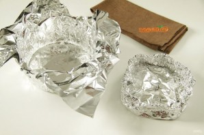Семга, запеченная в фольге с сыром - фото шаг 2