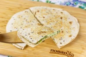 Тортилья с сыром - фото шаг 7