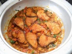 Рыба с пряным рисом и орехами - фото шаг 7