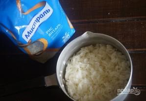 Мини-пироги с курицей, рисом и баклажанами - фото шаг 3